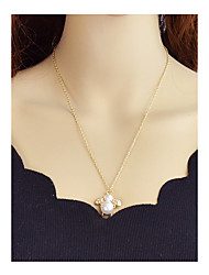 cheap -Pendant Necklace - Bee Simple Gold 56.5 cm Necklace For Party / Evening, School