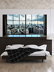 economico -Adesivi decorativi da parete - Adesivi 3D da parete Paesaggi / 3D Salotto / Camera da letto / Bagno