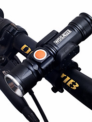 cheap -LED Flashlights / Torch / Front Bike Light / Headlight Dual LED Cycling Portable, Adjustable, Quick Release 18650 1000 lm Chargeable / 18650 White Camping / Hiking / Caving / Cycling / Bike / Fishing