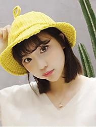 Недорогие -Жен. Очаровательный Шляпа от солнца Однотонный