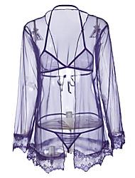 abordables -Uniformes & Tenues Chinoises Vêtement de nuit Femme - Imprimé, Broderie