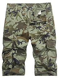 economico -Per uomo Militare / Moda città Pantaloncini / Pantaloni della tuta Pantaloni - Camouflage