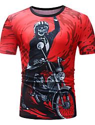 abordables -Tee-shirt Homme, Crânes Basique