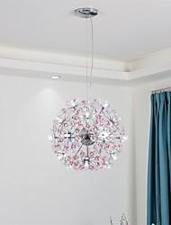 cheap -QIHengZhaoMing Sputnik Chandelier Ambient Light - Crystal, 110-120V / 220-240V, Warm White, Bulb Included / G4 / 15-20㎡