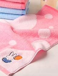 Недорогие -Свежий стиль Полотенца для мытья, Мультипликация Высшее качество Чистый хлопок Жаккардовое плетение 1pcs