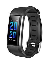 economico -Intelligente Bracciale YY-CPM200 per Android iOS Bluetooth Impermeabile Monitoraggio frequenza cardiaca Misurazione della pressione sanguigna Schermo touch Calorie bruciate Pedometro Avviso di
