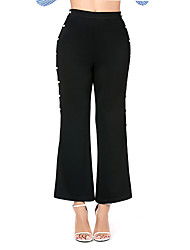 cheap -Women's Basic Chinos Pants - Solid Colored