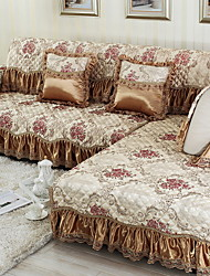 cheap -Sofa Cover Geometric Jacquard Polyester / Cotton Slipcovers
