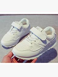 baratos -Para Meninas Sapatos Courino Primavera Botas de Neve Tênis para Preto / Azul / Rosa claro