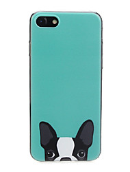abordables -Coque Pour Apple iPhone X / iPhone 7 Ultrafine / Motif / Adorable Coque Chien / Animal Flexible TPU pour iPhone X / iPhone 8 Plus / iPhone 8
