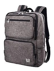 cheap -Men's Bags Nylon Backpack Zipper Dark Blue / Coffee