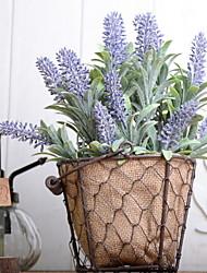 cheap -Artificial Flowers 1 Branch Vintage Lavender Tabletop Flower