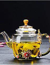 baratos -Copos Vidro de boro alto Chá e Bebidas / Jarro de água clara / Água Pot & Chaleira Dom namorado / presente namorada / Fofo 1pcs