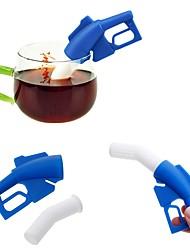 abordables -Silicone Creative Kitchen Gadget Pistolet à carburant 1pc Passoires à Thé