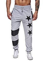 abordables -Hombre Básico Pantalones de Deporte / Chinos Pantalones - Geométrico