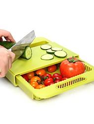 baratos -Organização de cozinha Prateleiras e Suportes Plástico Novo Design / Armazenamento / Criativo 1pç