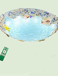 Недорогие -QIHengZhaoMing Монтаж заподлицо Рассеянное освещение 220-240Вольт, Диммируемый с дистанционным управлением, Лампочки включены / 15-20㎡