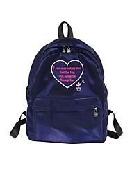 cheap -Women's Bags Cotton / Polyester School Bag Zipper Blushing Pink / Beige / Purple