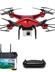 cheap -RC Drone DM106S RTF 4CH 6 Axis 2.4G 1.0MP 720P RC Quadcopter One Key To Auto-Return / Headless Mode RC Quadcopter / Remote Controller /
