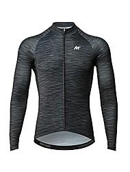 cheap -Mysenlan Men's Long Sleeve Cycling Jersey Bike Jersey / Expert / Breathable Armpits