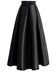 cheap -Loriya Women's Active / Basic A Line Skirts - Solid Colored