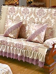 baratos -almofada do sofá Floral / Geométrica Estampado Poliéster Capas de Sofa