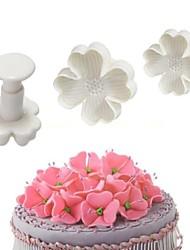 Недорогие -Инструменты для выпечки пластик Креатив Своими руками Печенье Cupcake Для торта Формы для пирожных 3шт