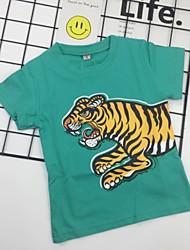 economico -Bambino (1-4 anni) Da ragazzo Moda città Con stampe Manica corta T-shirt