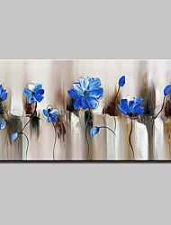 baratos -mintura® pintados à mão pintura a óleo moderna abstrata flores sobre tela retrato da arte da parede para decoração de casa pronto para pendurar