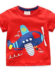 economico -Bambino / Bambino (1-4 anni) Da ragazzo Blu e bianco Collage Manica corta T-shirt