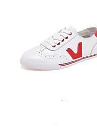 povoljno -Muškarci Cipele Mekana koža Jesen Udobne cipele Sneakers Crn / Crvena / Zelen