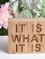 Недорогие -Вечерние Бамбуковый чип Свадебные украшения Семья Все сезоны