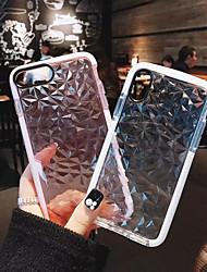 preiswerte -Hülle Für Apple iPhone X / iPhone 8 Plus Stoßresistent Ganzkörper-Gehäuse Solide Weich TPU für iPhone X / iPhone 8 Plus / iPhone 8