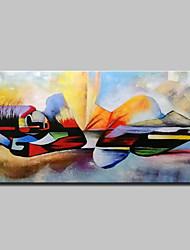 billiga -Hang målad oljemålning HANDMÅLAD - Människor / Religiöst Moderna Duk