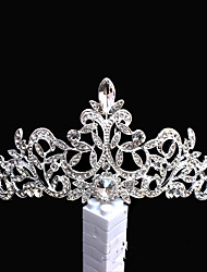 cheap -Alloy Headpiece with Rhinestone 1pc Wedding / Special Occasion Headpiece