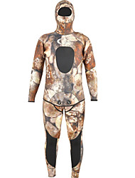 cheap -YON SUB Men's Full Wetsuit 7mm SCR Neoprene Diving Suit Long Sleeve Camouflage Autumn / Fall / Spring / Summer