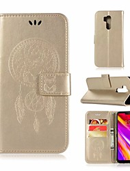 cheap -Case For LG G7 Wallet / Card Holder / with Stand Full Body Cases Owl Hard PU Leather for LG G7