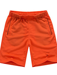 cheap -Men's Swim Shorts Quick Dry, Wearable, Breathable Nylon Short Pant Swimwear Beach Wear Board Shorts Solid Colored Beach / Multisport / Water Sports / Stretchy