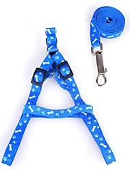 baratos -Cachorros / Gatos / Animais de Estimação Trelas Caminhada / Retratável / Tamanho Ajustável Estampa Colorida / Xadrez / Laço Tecido Rosa