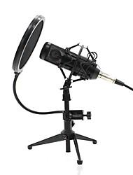Недорогие -KEBTYVOR BM800 Кабель Микрофон Микрофон Конденсаторный микрофон Ручной микрофон / Простой Назначение Компьютерный микрофон