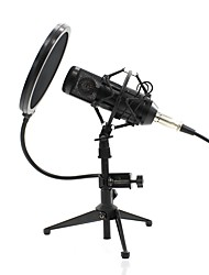 levne -KEBTYVOR BM800 Kabel Mikrofon Mikrofon Kondanzátorový mikrofon Mikrofon do ruky (handka) / Jednoduchý Pro Mikrofon k počítači