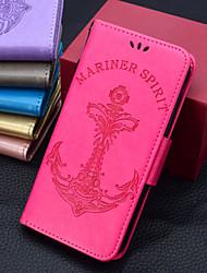 Недорогие -Кейс для Назначение SSamsung Galaxy S9 Plus / S9 Кошелек / Бумажник для карт / Флип Чехол Однотонный / Слова / выражения /