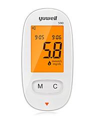 Недорогие -Factory OEM Измеритель глюкозы в крови 590 for Муж. и жен. Индикатор питания / Индикатор зарядки / Легкость