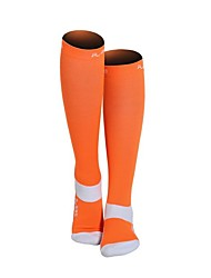 cheap -Solid Colored Men's / Women's Compression Socks Spring, Fall, Winter, Summer Anti-Slip / Wearable Nylon