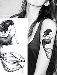 economico -5 pcs Tatuaggi adesivi Tatuaggi temporanei Serie di cartoni animati arti del corpo polso