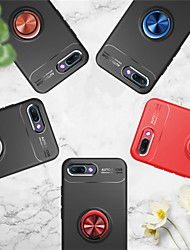abordables -Funda Para Huawei Honor 10 / Honor View 10(Honor V10) Soporte para Anillo Funda Trasera Un Color Suave TPU para Huawei Honor 10 / Honor 9