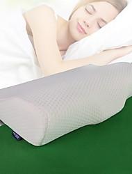 Недорогие -Комфортное качество Запоминающие форму тела подушки Стрейч / удобный подушка Пена с памятью / Пух серого гуся Хлопок