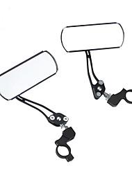 baratos -Espelho Retrovisor Retratável, Durável, Rotativo Moto vidro / Liga de alumínio Preto / Vermelho