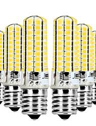 Недорогие -YWXLIGHT® 6шт 7W 600-700lm E17 Двухштырьковые LED лампы T 80 Светодиодные бусины SMD 5730 Диммируемая Тёплый белый / Холодный белый