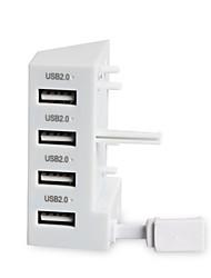 Недорогие -DOBE TYX-795S Беспроводное USB-концентратор Назначение Один Xbox USB-концентратор ABS 1pcs Ед. изм USB 2.0
